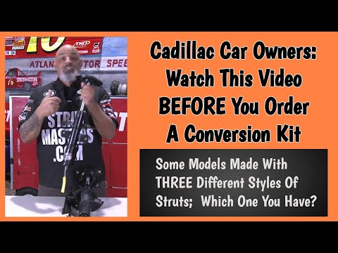Lou Santiago Talks About The Differences In Cadillac Struts For Strutmasters