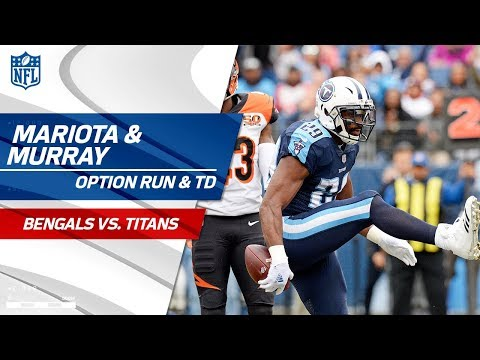 Video: Marcus Mariota's Option Run Sets Up DeMarco Murray's TD Blast | Bengals vs. Titans | NFL Wk 10