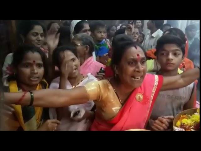 नागपुर - गांधीबाग काली माता  मंदिर को लेके भक्तो का शक्तिप्रदर्शन