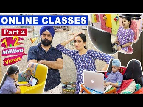Online Classes - Part 2 | Ramneek Singh 1313 @RS 1313 VLOGS @RS 1313 SHORTS