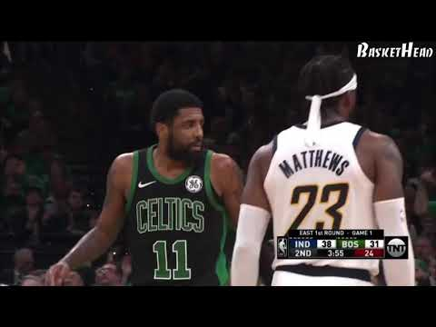 Boston Celtics SLOB play- Down into Stagger (Boston Celtics-Indiana Pacer)