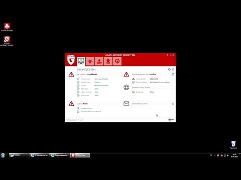G Data Internet Security CBE: Installation