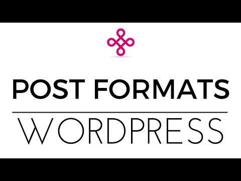 Wordpress Post Formats Tutorial