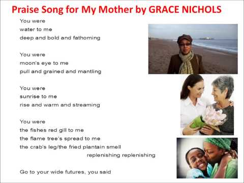 praise song for my mother grace nichol s