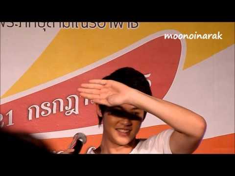 120721 หมาก ปริญ @ Lucks Fun Fair #2 Central Ladprao - 5 (видео)