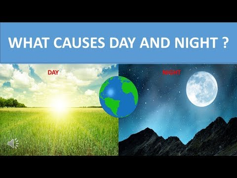 WHAT CAUSES DAY AND NIGHT ? || SCIENCE VIDEO FOR KIDS