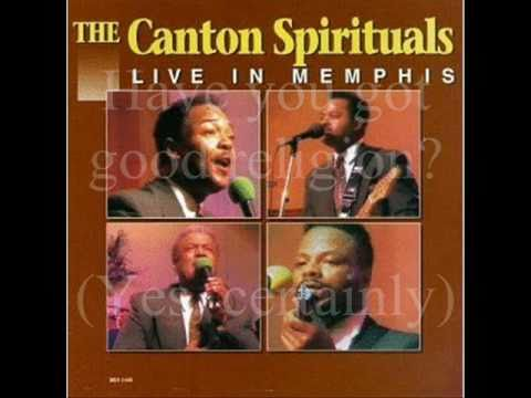 certainly - I'm back with another YouTube gospel video. In 1993, one of the greatest quartet groups, the Canton Spirituals came out with one of their most popular albums...