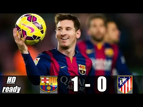 Barcelona 1 - 0 Atletico Madrid | la liga. All goals and highlights 04/03/2018