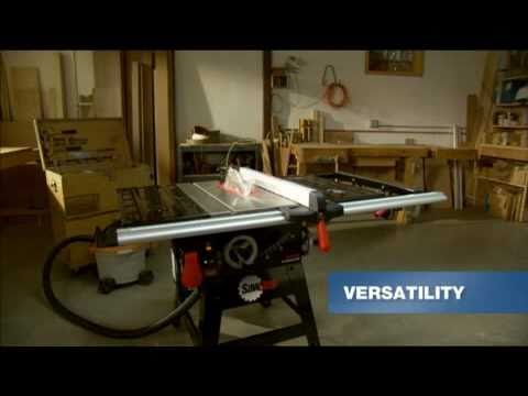 SawStop CNS Table Saw: Features