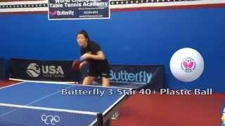 3-Star 40+ Plastic Ball featuring Nan Li
