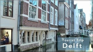 Delft Netherlands  city pictures gallery : Delft in Holland, the tourist city tour