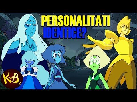 Teorii din desene: Steven Universe - Diamantele influenteaza personalitatea nestematelor?