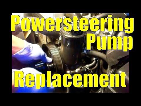 Power Steering Pump Replacement: 1993 Lexus SC300 (2JZ-GE)
