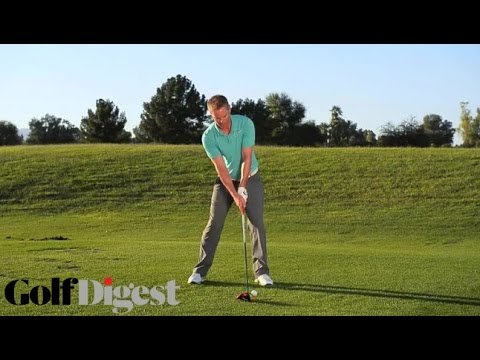 Golf Tip: Hit Up On The Ball For Greater Distance