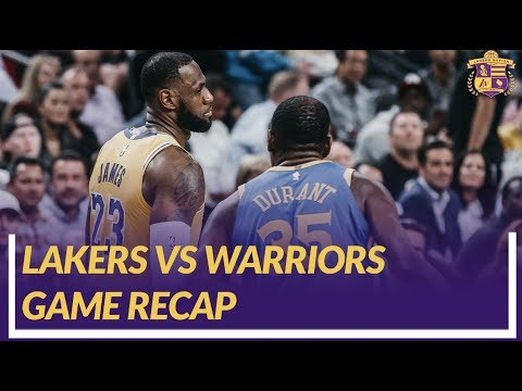 Video: Lakers Nation Game Recap: Lakers Win vs The Warriors, Lonzo's First Game Back, Importance of Pace