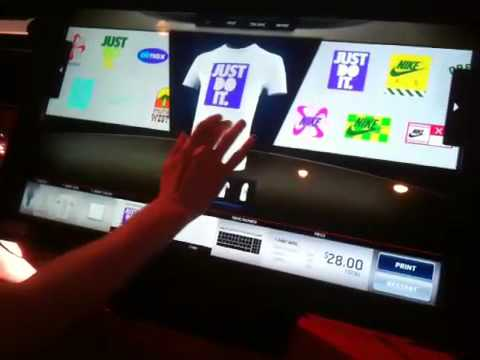 Nike T Shirt Customization Experience | Video