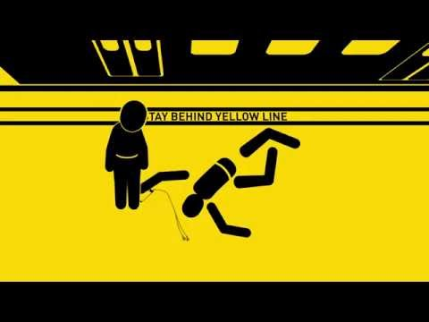 Stick Figures Die in Variety of Transit Safety Videos by Metro Los