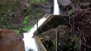 Madeira # Lavadawanderung bei extrem Wetter !