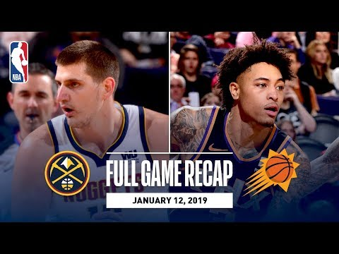 Video: Full Game Recap: Nuggets vs Suns | Oubre & Ayton Notch Double-Doubles