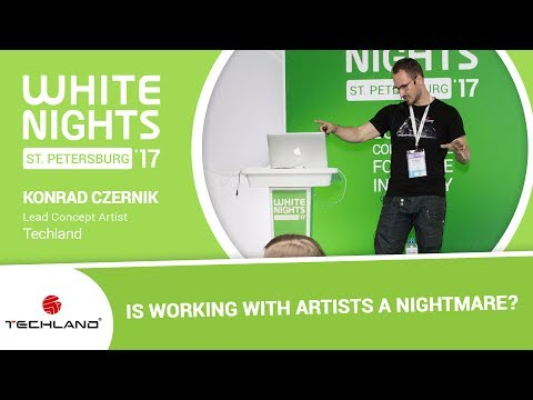 Konrad Czernik (Techland) - Is Working with Artists a Nightmare?