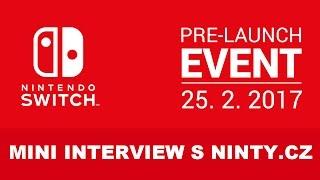 Na Nintendo Switch Eventu jsme se setkali také s Honzou Skýpalou, který vlastní a vede český news blog o Nintendu, Ninty.cz. Zeptali jsme se ho na jeho dojmy ze Switche.Naše webové stránky: http://www.nintendocast.czNáš Facebook: http://www.facebook.com/nintendocast.czNáš Instagram: http://www.instagram.com/nintendocastNinty: http://www.ninty.cz