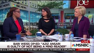 New York Times Editor Blasts Aziz Ansari Accuser: 'I'll Get Crushed for Saying This'