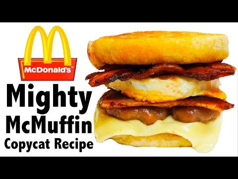 McDonald's Egg McMuffin COPYCAT Recipe