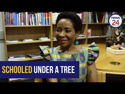 Watch: Uct's New Vice-chancellor Remembers Attending School Under A Tree