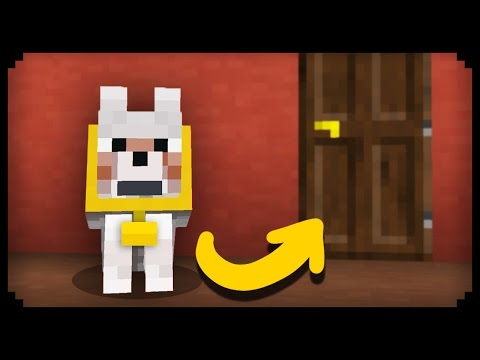 ✔ Minecraft: How To Make A Working Guard Dog