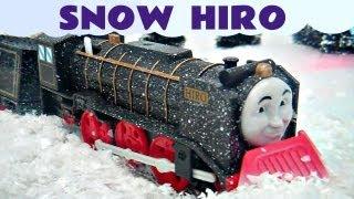 Thomas The Train Snow Clearing Hiro Trackmaster Kids Toy Train Set Thomas The Tank Engine