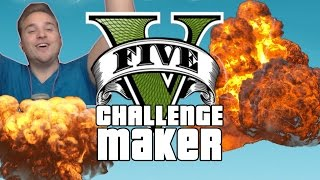 GTA 5 CHALLENGE MAKER | So macht ihr Challenges • GTA Online Challenges | Let's Play GTA 5 LPmitKev