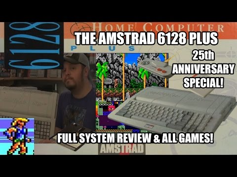 The Amstrad 6128 Plus - 25th Anniversary Special! (Full system review and all games!)