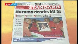 This is why you may not be allowed to attend Mama Lucy Kibaki's burial