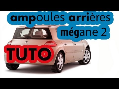 comment demonter ampoule megane 2