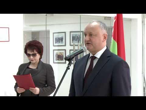 Președintele țării a participat la expoziția consacrată aniversării a 75-a a Marii Victorii