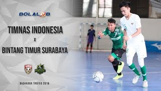 Video Highlight : Timnas Futsal vs Bintang Timur Surabaya (6-2) - Baskhara Trofeo 2018 MP3, 3GP, MP4, WEBM, AVI, FLV Oktober 2018