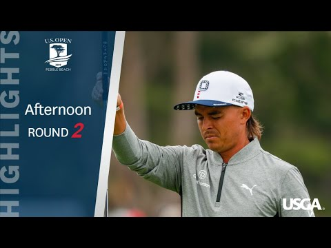 U.S. Open Round 2: Afternoon Highlights