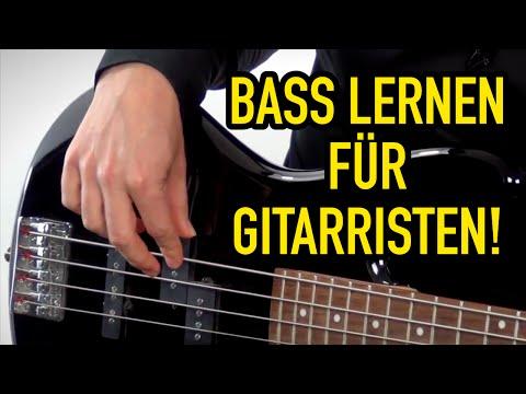 NEU: E-Bass Lernen für Gitarristen - Schnell Bass Spielen Lernen Online Kostenlos