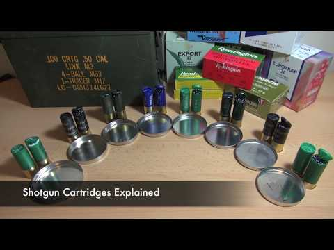 Video: Shotgun cartridges explained