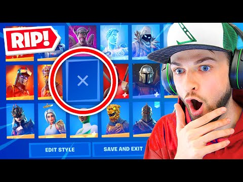 Epic are *REMOVING* this skin!? (PAY TO WIN)