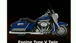 10. 2010 Harley-Davidson Road King Base - Specs