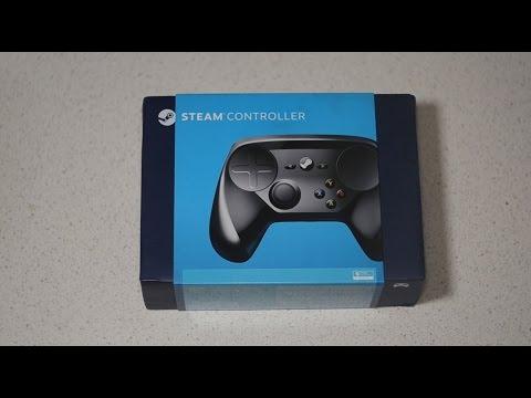 Обзор, распаковка и первые тесты Steam Controller - Сосочки Гейба! - видео на сайте VideoVortex.ru