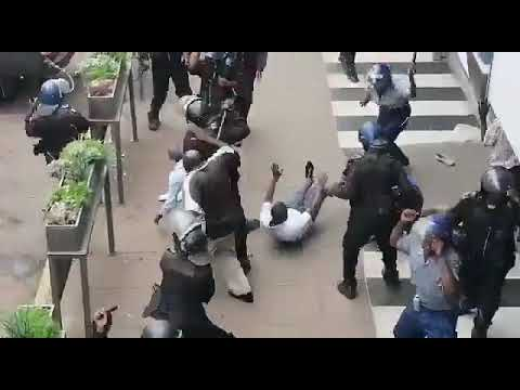 Police Brutality in Harare, Zimbabwe