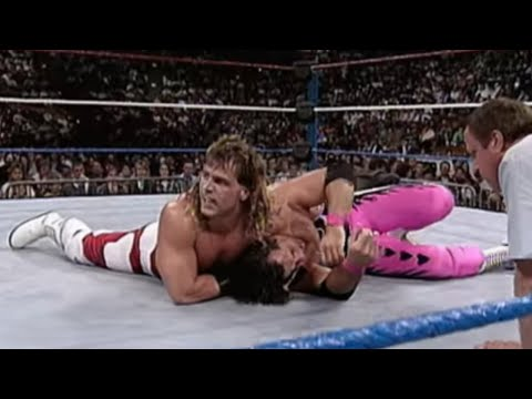 Bret Hart Vs Shawn Michaels. From WWE Survivor Series 11/25/92