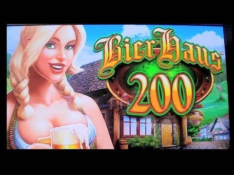 Bier Haus 200 – NEW SLOT MACHINE WIN + RETRIGGER – Las Vegas Slots Winner