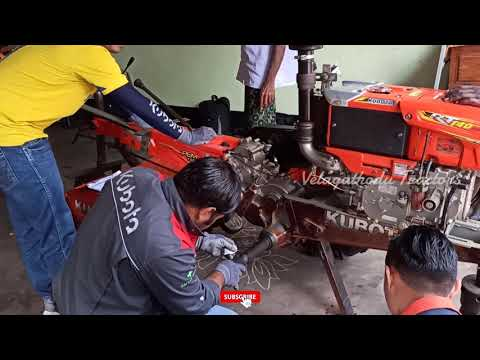 Kubota 140 DI Power Tiller | Thailand Engineers worked in my home | #Velagathodu_Tractors