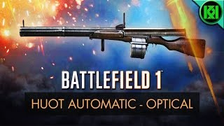Battlefield 1 New Weapons (BF1): Here's my Huot Automatic 'Optical' Weapon Review/Guide, including info, tips for using it best, gun stats + Huot Automatic Optical Gameplay. Huot Optical unlock guide included. BF1 Weapons + Guns (PS4 Pro Gameplay)For more information on the Huot Automatic real life history and 'Low Weight' variant stats, check out the other 'Huot Automatic Low Weight' review on my channel.Battlefield 1: Huot Automatic Optical Review (Weapon Guide)  BF1 Huot Optical GameplayStats Reference: http://symthic.com/How to unlock Huot Automatic Optical:Huot Optical variant has a lens sights and a grip, it can be unlocked after reaching support rank 10, and by getting 300 kills with the Huot Automatic Low Weight, and 25 kills with limpet charges. Huot Optical BF1 unlock (Best gun tips) (PS4 Pro Gameplay)Facebook:  https://www.facebook.com/kriticalkrisTwitter:  https://twitter.com/KriticalKrisMusic:Intro:Krale - Frontier (ft. Jasmina Lin & Jay Christopher) [NCS Release]http://www.youtube.com/watch?v=pGMojZB0Lm0Check out my channel: KriticalKris Channel : https://www.youtube.com/channel/UC5d9SQiZzg7qFcqF0xTOFXQ/feedhttps://youtu.be/YpMEwJjWowk