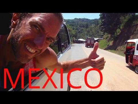 Crazy Bus Journey Across Mexico & Amazing Views
