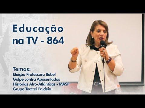Eleição da Professora Bebel / Golpe contra Aposentados / Histórias Afro-Atlânticas-MASP / Grupo Paidéia