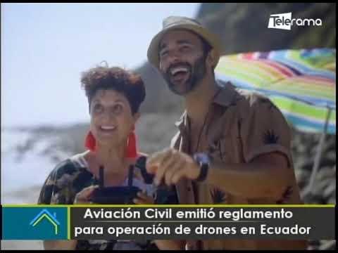 Aviación civil emitió reglamento para operación de drones en Ecuador